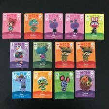 NEW Animal Crossing Amiibo Cards - Series 1-4 Mint. Original. Unscanned.