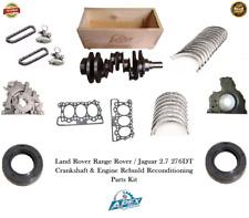 RANGE ROVER 2.7 CRANKSHAFT LAND ROVER 276DT ENGINE REBUILD RECONDITIONING PARTS
