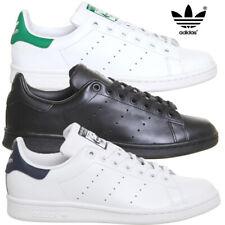 Geniune Adidas Para Hombre De Cuero Retro Clásico Zapatillas Stan Smith Tenis Zapatos