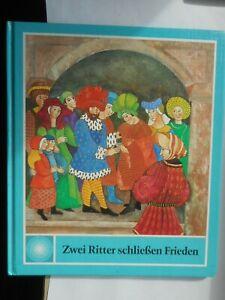 Regina Schindler/Antonella Bolliger-Savelli: Zwei Ritter schließen Frieden 1987