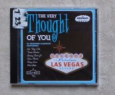 "CD AUDIO MUSIQUE / VARIOUS ""THE VERY THOUGHT OF YOU"" CD COMPILATION 2010 NEUF"
