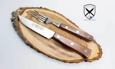 Steakbesteck Brotzeitbesteck Bubingaholz RF Marsvogel Solingen