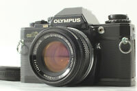 【EXC+4】Olympus OM10 Black SLR Film Camera w/ F.Zuiko 50mm f/1.8 Lens JAPAN #562