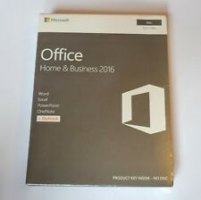 Microsoft Office Home & Business 2016 for Mac NEW Word Excel Outlook PowerPoint
