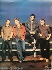 """A1 """"BAND SITTING ON FENCE"""" POSTER FROM ASIA - U.K. / Norway Pop Boy Band"""