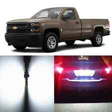 Alla Lighting License Plate Light 194 2825L LED Bulbs for Chevy Silverado Malibu