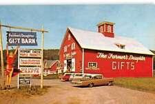 St Johnsbury Vermont Farmers Daughter Street View Vintage Postcard K95954