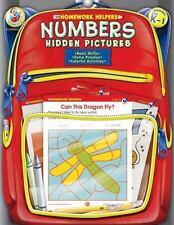 Homework Helper: Numbers, Grades PK - 1 : Hidden Pictures by Carson-Dellosa Publ