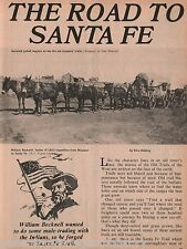 Willilam Becknell - Sante Fe Trail Founder +Chouteau,De Holding,Mainez,Pike