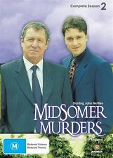 Midsomer Murders Complete Season 2 2-Disc Set + Map ALL Region DVD in VGC