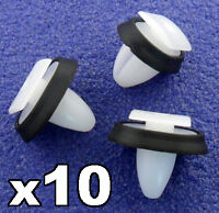 10x Peugeot Boxer Exterior Side Moulding Rub Bumpstrip / Lower Door Trim Clips