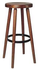 Barhocker, 2 St. stabverleimte mass. Holzsitz, sofort lieferbar, exzel. Qualität