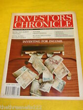 INVESTORS CHRONICLE - WATER PROFITEERING - MAY 31 1991