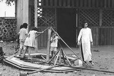 Vietnam 1971- Children And Merry-Go-Round - Vung Tau