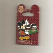 DLR - Mickey Mouse with Monorail and Matterhorn Bobsleds Pin on Pin