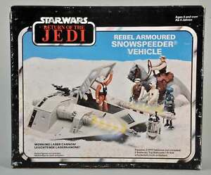 Vintage Star Wars ROTJ Snowspeeder box only with Instructions.