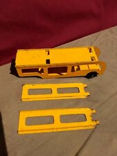 Vintage TOOTSIETOY CAR TRUCK CARRIER HAULER TRAILER (only) w/ 2 RAMPS