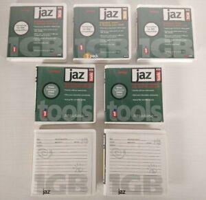 Iomega Jaz 1Gb Lot of 7 Disks Fortatted For IBM Compatibles