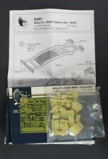 Kendall Model Company 1/35th Scale Willy's Jeep WWII Update Set for Italeri