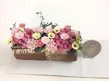 "Dollhouse Miniature Home/Garden/Yard 3"" Handmade Clay Assorted Flowers 1:12"