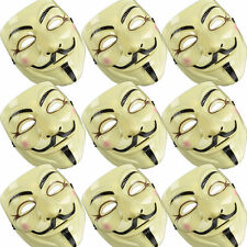 Lot 10pcs New V For Vendetta Mask Guy Fawkes Anonymous Masks Party Cosplay