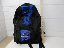 Vintage Pbr Back Pack Blue Black Large Size Pabst Blue Ribbon Beer