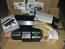 Atari 7800 ProSystem Console Complete in box + 8 Games Galaga Pole Position