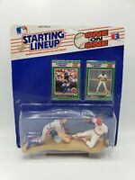 Vintage 1989 Starting Lineup One on One Gary Carter Eric Davis Mets Cubs