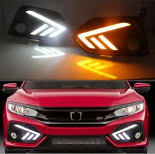 2017 18-19 For Honda Civic si Fog light Daytime Running Light DRL LED Day Light
