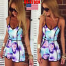 New Womens Ladies V Neck Playsuit Bodycon Summer Jumpsuit Romper Trousers Shorts