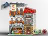 Modular Schokoladenfabrik - PDF-Bauanleitung - kompatibel mit LEGO Steine
