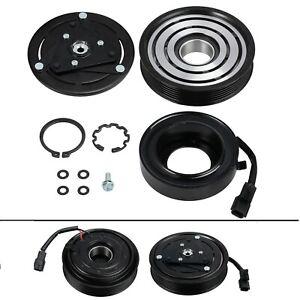 AC Compressor Clutch Kit COIL PULLEY Fits: 2007 - 2012 Nissan Altima 4CYL 2.5L