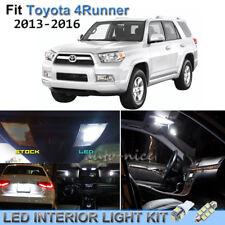 12pcs Bright White Interior LED Lights Package Kit For 2013-2016 Toyota 4Runner
