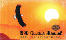 1990 Harley ALL MODELS Touring Sportster Softail Owner's Owners Owner Manual NEW