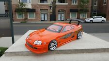 200mm Custom Paint SUPRA 4Tec HPI TC7 Lipo Drift MST HSP Tamiya 1/10 Body Only