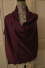 Pretty Magaschoni Deep Purple Pointelle Cashmere Scarf – NWT - $198