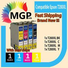 4x Generic Ink Cartridge T200XL for Epson XP100 XP400 XP200 XP300 WF2530 2540
