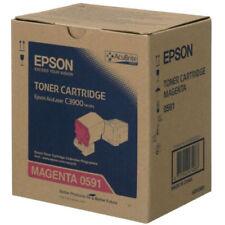 Cartuchos de tóner de impresora magenta originales Epson