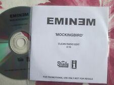 Eminem – Mockingbird Shady Records Interscope Records UK Promo CD Single