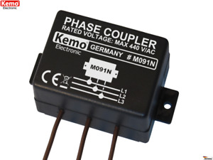 M091N Kemo Phasenkoppler Netzwerkkoppler für Powerline Product B-WARE
