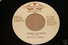 Michael Jones I Knew You When b/w Do Your Trick 45 From Co Vault Unopen Box M *