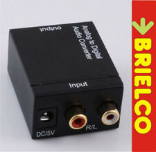 CONVERTIDOR AUDIO ANALOGICO A DIGITAL COAXIAL-OPTICO TOSLINK ALIME 12V-5V BD9319