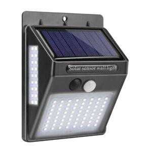 LED Lampe Solaire Projecteur Capteur Détecteur Mouvement Jardin Extérieur