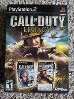 Call of Duty Legacy (Includes Finest Hour, Big Red One) PS2
