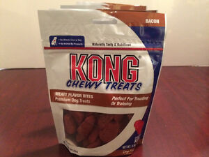 Kong Chewy Treats (Bacon Flavored-6.5oz)