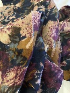 Jigsaw Ladies Scarf Floral 100% Wool