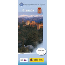 CNIG Spanish Provincial Road Maps (1:200k) - Granada