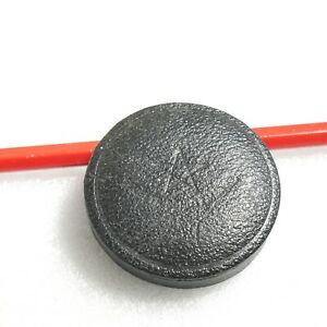 Leather Felt Lined Front Lens Cap Plastic Genuine Used 42mm