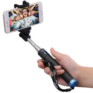 Mpow Extendable Monopod Selfie Stick Bluetooth Remote Shutter For iPhone Samsung