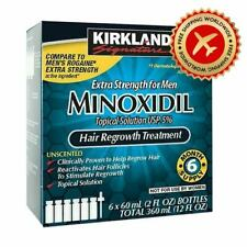 Kirkland Minoxidil 5% Extra Strength Men Hair Regrowth Solution FREE SHIPPING